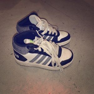 Boys Adidas high tops